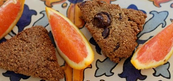 Gluten-Free Cinnamon Almond Orange Scones
