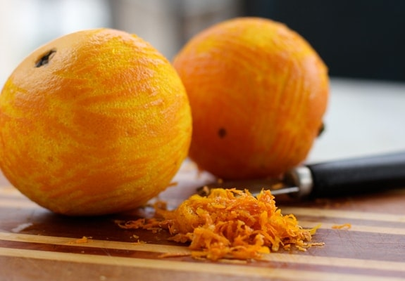 Gluten Free Cinnamon Orange Almond Scones