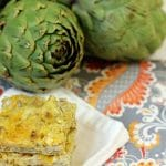 A is For Amazingly Addictive Artichoke Squares {Gluten Free, Low Carb}