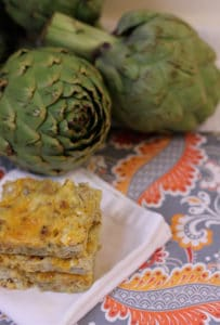 A is For Amazingly Addictive Artichoke Squares
