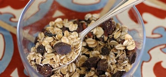 Decadent {but healthy} Dark Chocolate Muesli