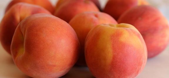 Summertime Gingery Peach Float