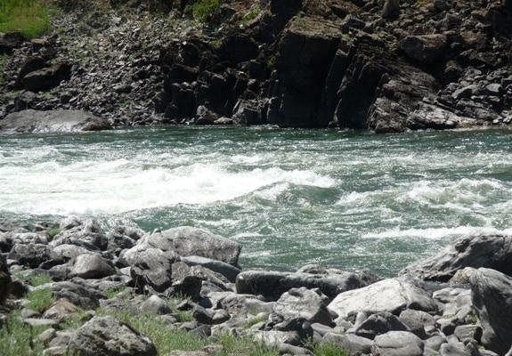 Idaho whitewater rafting trip-China rapids