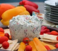 Recipe ReDux: Creamy Triple Pepper and Kale Dip