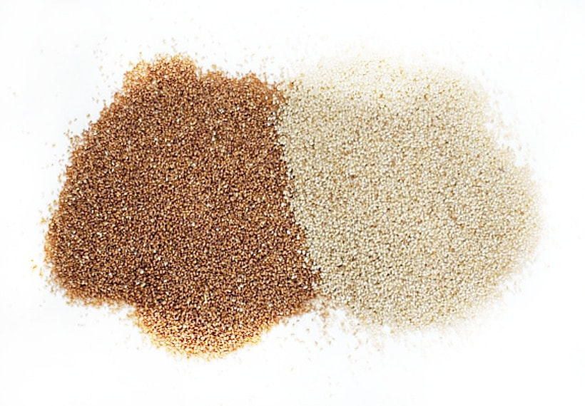 Have you tried teff? It's gluten free, super nourishing, and the world's smallest grain. Learn more at EA Stewart @thespicyrd