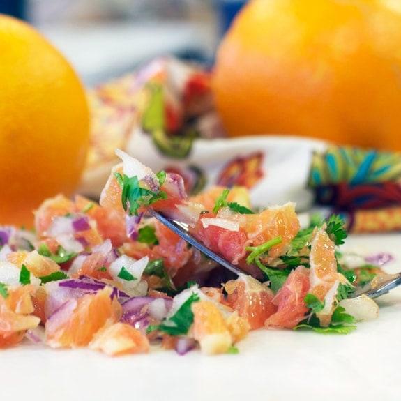 Orange Salsa Fresca