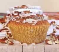 {Almost} Wordless Wednesday: Pecan Coconut Muffins