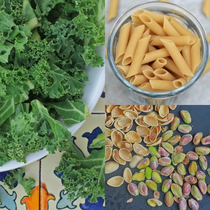 Ingredients Lemony Kale Pasta Salad