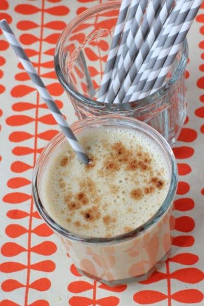 Spiced Banana Milkshake