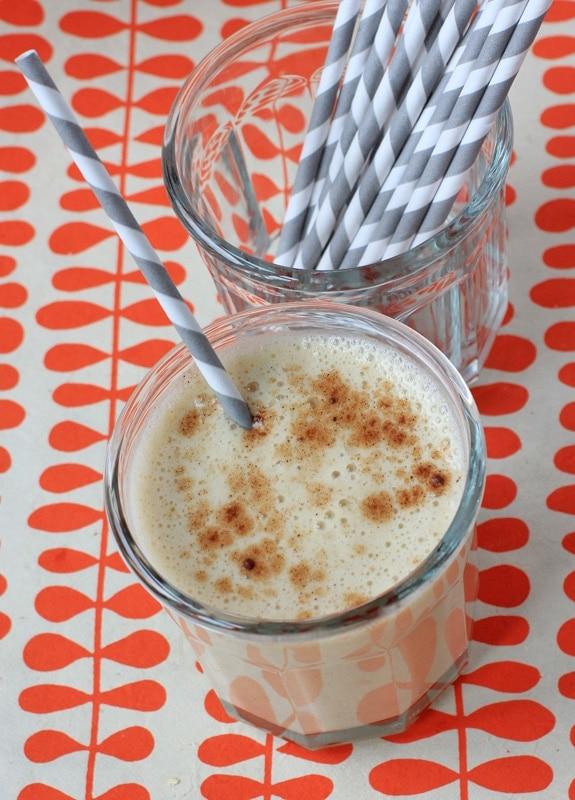 banana spice milkshake
