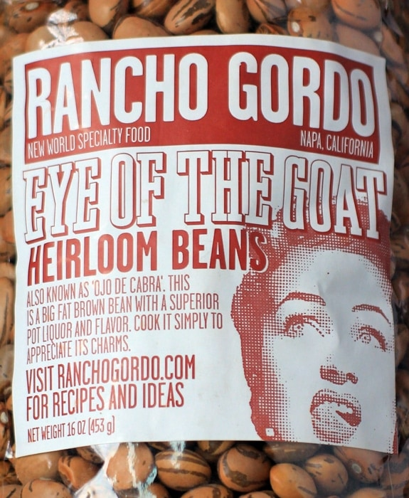 rancho gordo eye of the goat heirloom beans