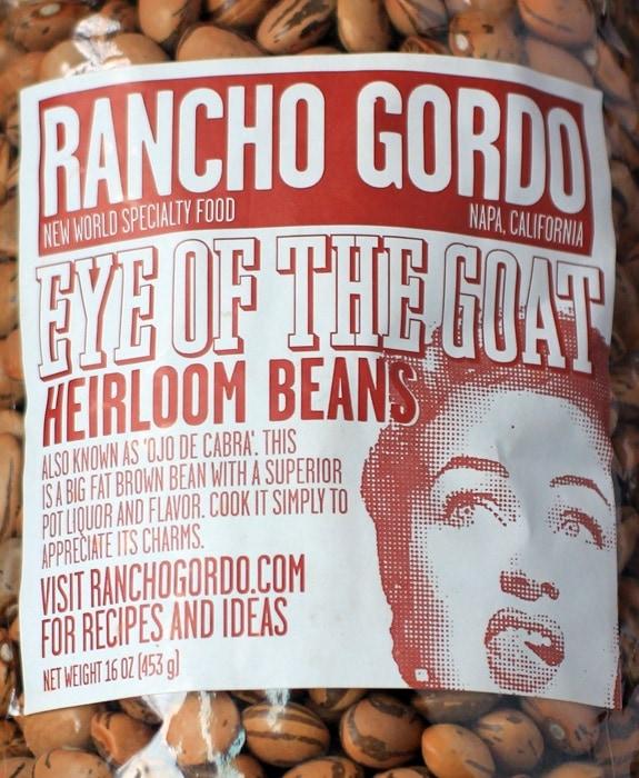 rancho gordo eye of the goat heirloom beans