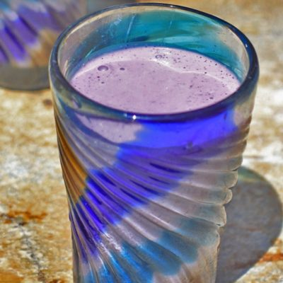 blueberry lassi