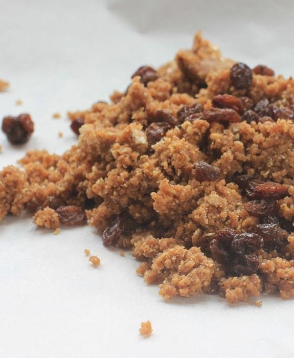 maple cinnamon cookie dough