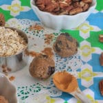 Raw Oatmeal Cinnamon Raisin Maple Pecan Cookie Dough {Part One}