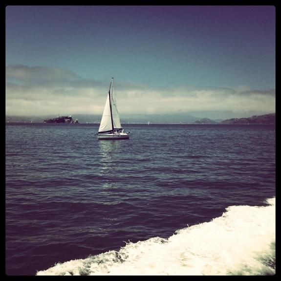 sailboat San Francisco Bay