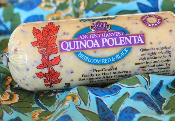 ancient harvest quinoa polenta