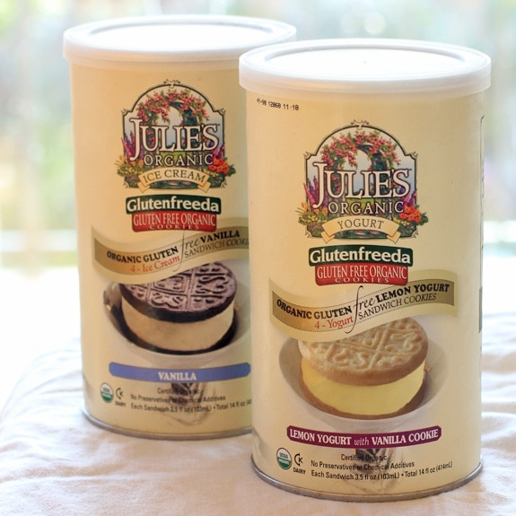 Julie's Organic Ice Cream Sandwiches