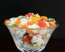 Halibut Ceviche and The Curious Case of The Missing Shopping Cart