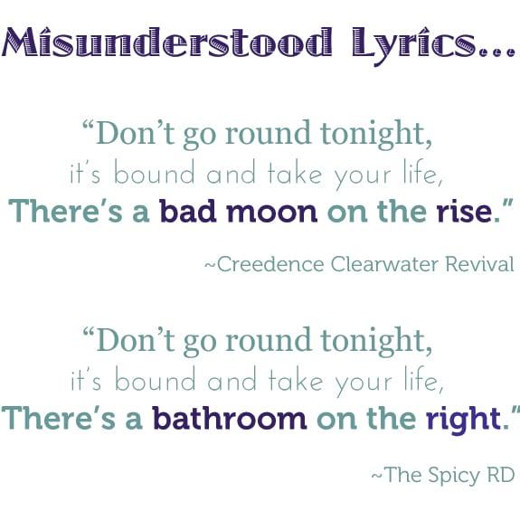 bad moon ccr misunderstood lyrics