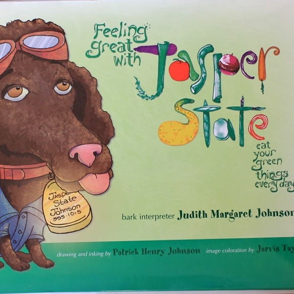 feeling great with jasper state book