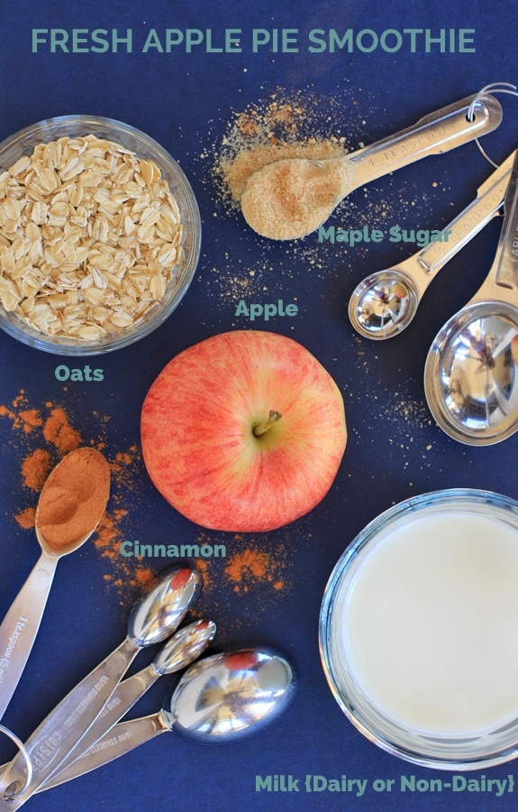 apple pie smoothie ingredients