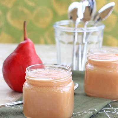 orange ginger pear sauce