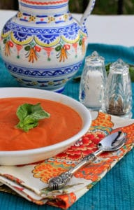 Healthy Cream of Tomato Soup