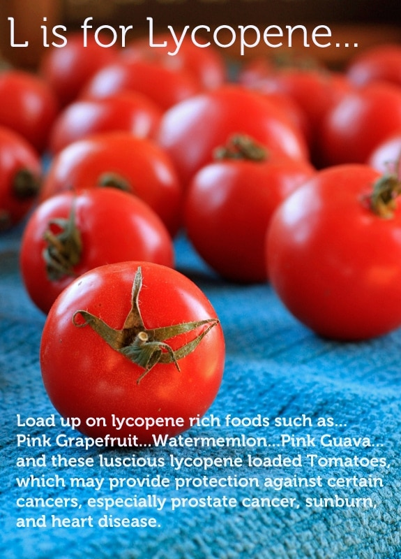 L is for lycopene
