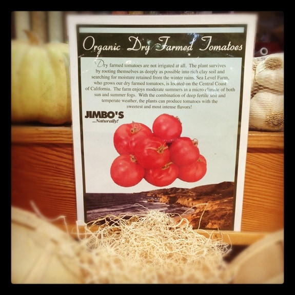 Sea Level Farms Organic Dry Farmed Tomatoes