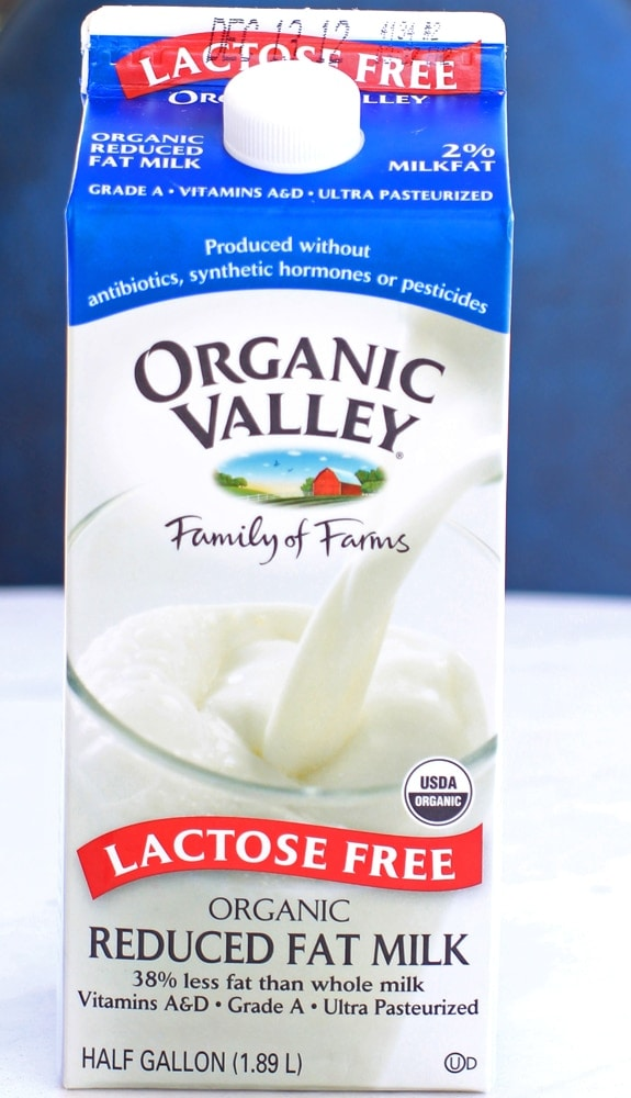 organic valley lactose free milk