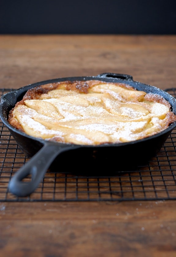 Pear Dutch Baby {Gluten-Free}