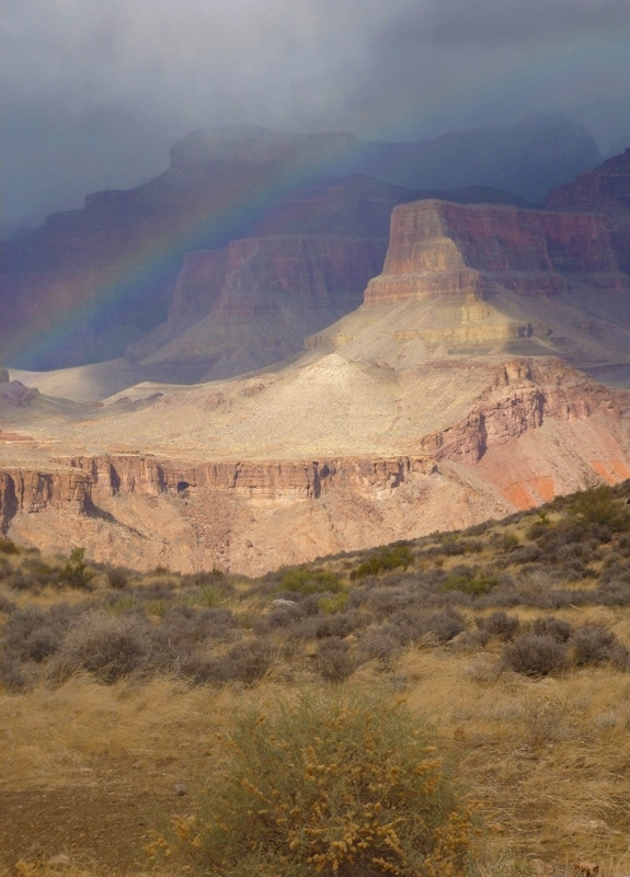 Rainbow, Grand Canyon