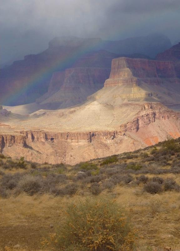 Rainbow, Grand Canyon
