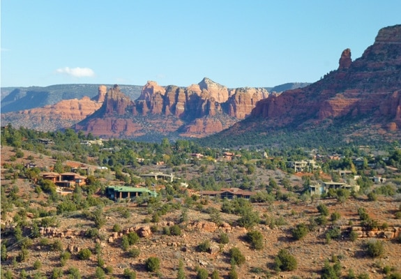 View of Sedona from Cathedral Rock