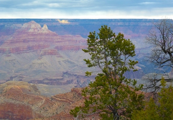 The Grand Canyon, South Rim, December 2012