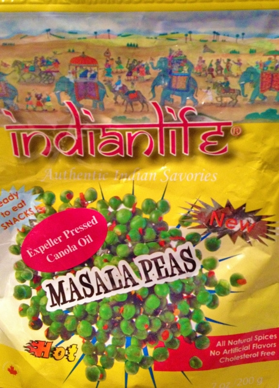 Masala Peas from Indian Life