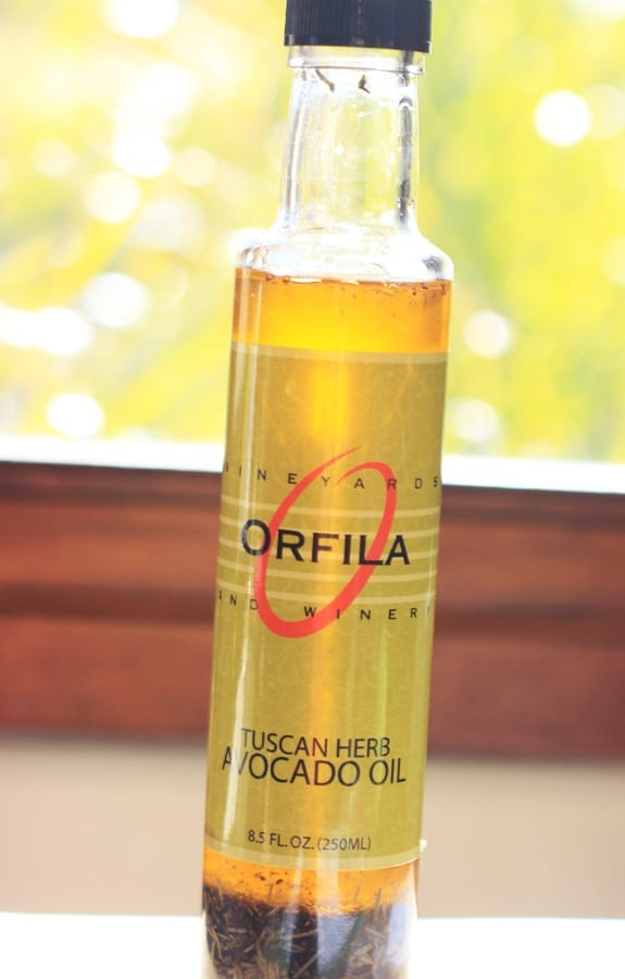 Orfilia's Vineyard Tuscan Herb Avocado Oil