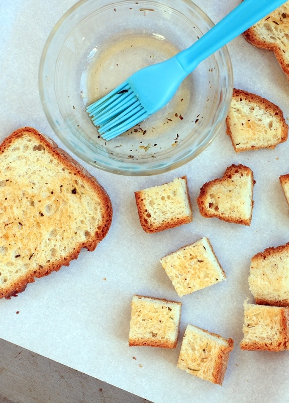 udi's gluten-free bread croutons for panzanella salad