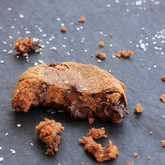 Dark Chocolate Chunk Pecan Love Bites//The Spicy RD