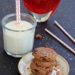 Gluten Free Vegan Cookies | Chocolate Pecan Love Bites