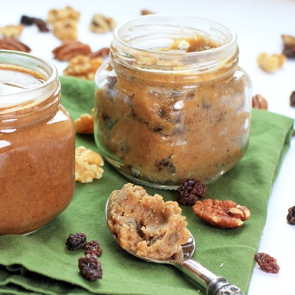 Toasted Vanilla Maple Pecan Nut Butter & Raw Cinnamon Raisin Walnut Butter