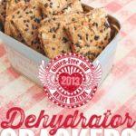 Gluten-Free & Heart Healthy 2013: Onion & SunDried Tomato Almond Crackers
