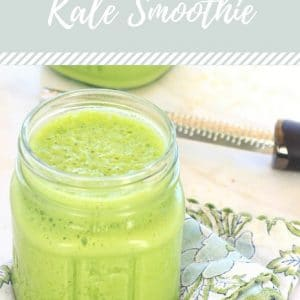 Pineapple Ginger Kale Smoothie