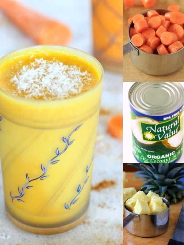 Spiced Carrot Cake Smoothie//The Spicy RD