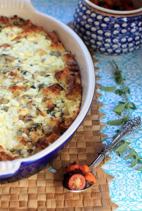 vegetable strata recipe