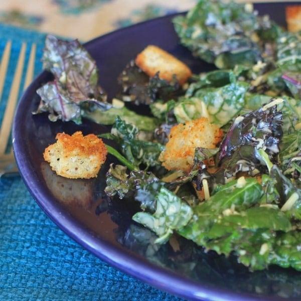 Kale Caesar Square
