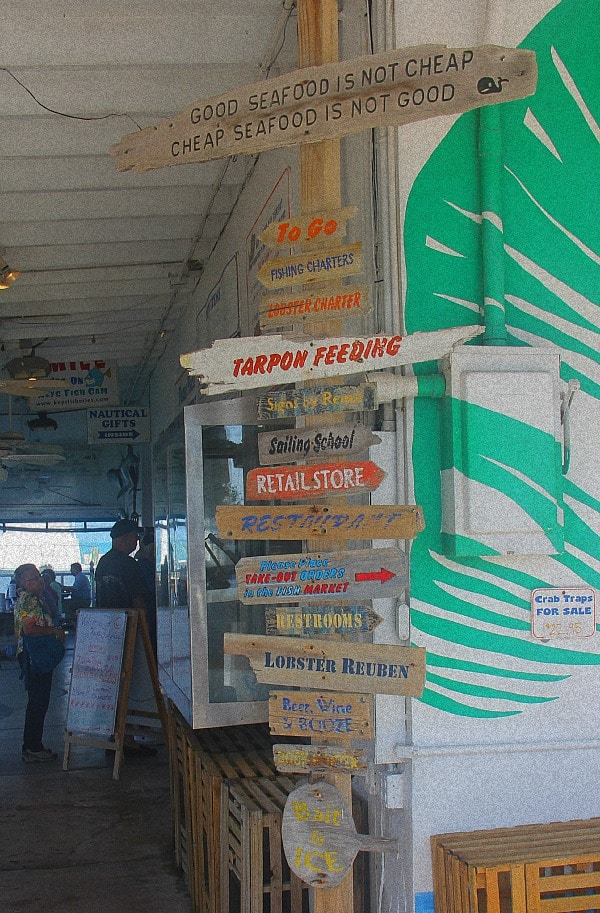 Great fresh seafood spot in the Florida Keys: Key Fisheries//The Spicy RD