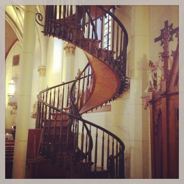 Loretto Chapel Santa Fe//The Spicy RD