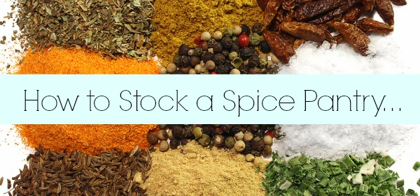 How to Stock a Spice Pantry // The Spicy RD